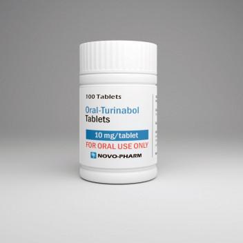 Buy Novo-Pharm Turinabol 10mg 100 tabs