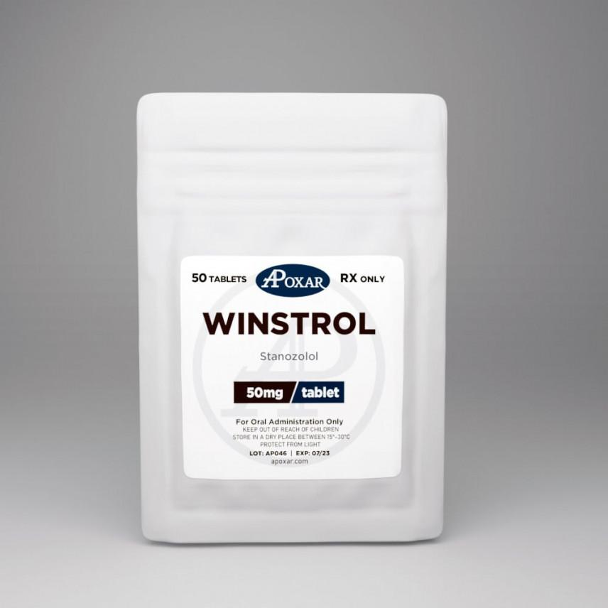 Buy Winstrol Stanozolol Apoxar Canada Steroids 50