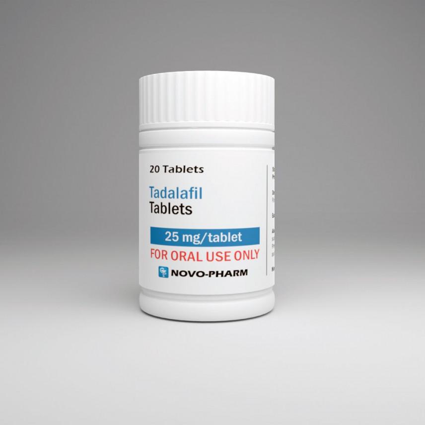 Buy Novo-Pharm Cialis 25mg 20 tabs