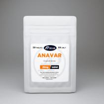 Anavar - Oxandrolone 20mg/50tabs - Apoxar