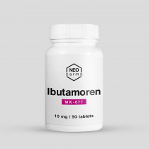 Ibutamoren - MK-677 (Oral HGH) 10mg/50tabs - NEO Sarms