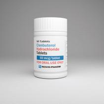 Clenbuterol (Fat Loss) 50mcg/50tabs - NovoPharm