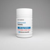 Winstrol - Stanozolol 50mg/50tabs - NovoPharm