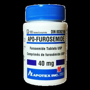 Lasix - Furosemide (Diuretic) 40mg/100 tabs