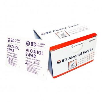 Alcohol swabs 100/box