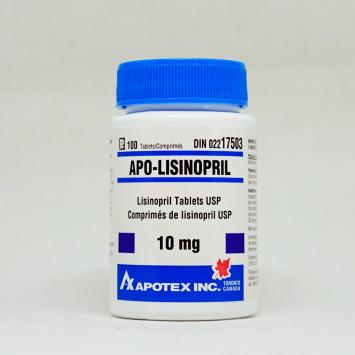 Lisinopril 10mg/100 (Blood Pressure) - Pharmacy Grade