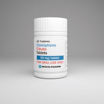 Buy Novo-Pharm Clomid 50mg 50 tabs