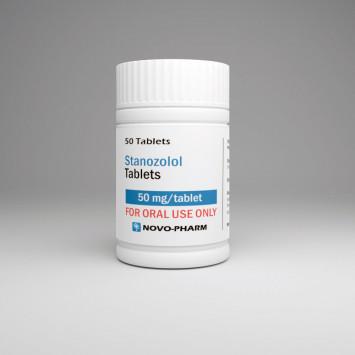 Buy Novo-Pharm Stanozolol 50mg 50 tabs