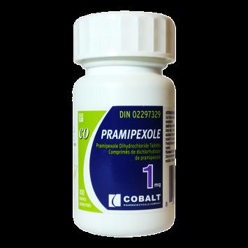 Pramipexole (Anti Prolactine) 1mg/10tabs - Canadian Generic